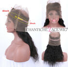 360 Full Lace Frontal Band Body Wave Brazilian Remy Virgin Human Hair Closures