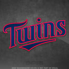 "Minnesota Twins Jersey Logo Vinyl Decal Sticker MLB - 4"" and Larger - Glossy on Ebay"