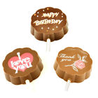POPPY'S CHOCOLATE CHOC POP - HAPPY BIRTHDAY, I LOVE YOU & THANK YOU.