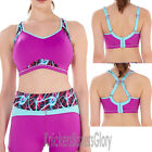 Freya Active Epic Underwired Moulded Crop Top Sports Bra Ultra Violet 4004 NEW
