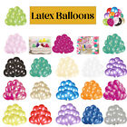 "10"" 100 Pcs Latex Party Balloons for Wedding Birthday Christmas Decoration"