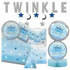 TWINKLE LITTLE STAR - Baby Shower Party, Blue Decorations,Games,Banners,Boy