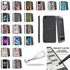 For HTC Desire 630 Fitted Flexible Clear TPU Case Unique Designs with Stylus Pen