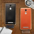 * SOFT LEATHER TPU * Protective Back cover case for XIAOMI REDMI NOTE 3