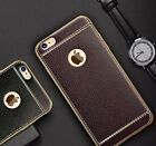 "SOFT LEATHER TPU * Protective Back cover case for * APPLE IPHONE 6 / 6S (4.7"")"