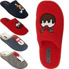 New Womens Ladies Slip On Warm Winter Festive Novelty Slippers Mules Shoes Sizes
