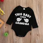 New Arrived Newborn Baby Kids Boys Girls Romper Jumpsuit Bodysuit Clothes Outfit