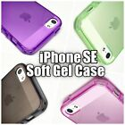 SLIM TPU Soft Rubber Silicone CLEAR GEL CASE COVER for Apple iPhone 5 5S 5SE