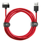 For iPad 3 iPad 2 iPhone 4s Charger Cable 20AWG FAST Long USB Data Charging Lead