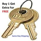 2 Global File Cabinet Keys W001-W249 Desk Office Furniture Keys $9.99 USD
