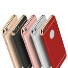 Luxury 3 in 1 Removable Hard Back Cover Cases Coverage For iPhone 5 SE 6 6S Plus