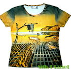 DALI Melting Soft Clocks Soft TEE SURREALISM T SHIRT FINE ART PRINT PAINTING