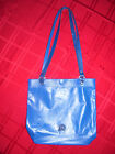 Michael Rowland Original Leather Bag Haley's Tote Royal Blue