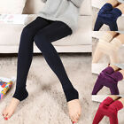 Women Sexy Warm Winter Thick Skinny Slim High Waist Leggings Stretch Pants
