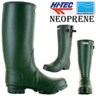 MENS HI TEC NEOPRENE WATERPROOF WELLINGTONS FESTIVAL MUCKER BOOTS WELLIES SIZE