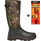 """Lacrosse 4xAlpha Realtree Xtra Green Snake Boot 16"""" Mens Boots 376121 W/ Warmers"""