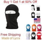 Outdoor Ski Motorcycle Cycling Balaclava Lycra Full Face Mask Neck Ultra Thin фото