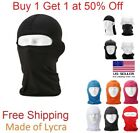 Ski Mask Motorcycle Cycling Balaclava Lycra Full Face Mask Neck Ultra Thin NEW