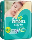 (small size) Pampers Baby Dry Diapers  - Free Shipping for sale  India