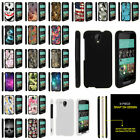 For HTC Desire 520, Slim Hard Plastic Snap On Case Unique Designs Fitted