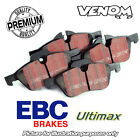 EBC Ultimax Rear Brake Pads Audi A5 Conv. Quattro 2.0TD (11-) DP1988