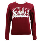 Authentic FALLING IN REVERSE Cursive Juniors Girls Long Sleeve Shirt S-2XL NEW