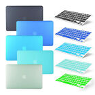 """Rubberized Hard Case Shell+keyboard Cover Macbook Air Pro Retina 11 12 13.3 15"""""""