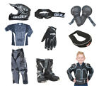 Kids Childrens Motocross Quad Kit Wulfsport 2017 Attack MX Ultra Set Black #X7
