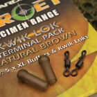 Gardner Tackle Target Kwik Lok Swivels & xl Mini Buffer Beads 2 Colours