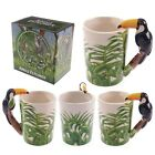 Nosey Toucan Shaped Handle Tea Or Coffee Mug