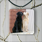 LOVE IS FOR DOG LABRADOR TOO PENDANT NECKLACE 3 SIZES CHOICE -gmj7Z