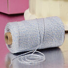 Light Blue & White Duo 4-ply 100% Cotton Baker's Twine *Your Choice of Length*