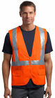 CornerStone Men's Polyester Sleeveless Tape Mesh Back Safety Vest. CSV405