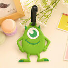 New Cartoon Figure Travel Luggage Bag Name Address ID Label Suitcase Baggage Tag