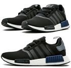 ADIDAS NMD R1 MEN's NOMAD BOOST BLACK - BLUE - WHITE AUTHENTIC NEW IN BOX USA SZ