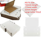 100x C6 A6 Size Large Letter Cardboard Postal Box Royal Mail PIP 160x115x22mm UK