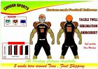 American Football Uniforms Custom Sublimation 10 Set Jersey and Pant Adult youth