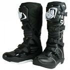 New Rino Black Motocross Enduro Trail Boots CR YZ RM KX CRF KXF RMZ YZF XR DRZ