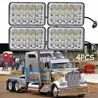 4x LED Headlights Bulb For Kenworth T800 T400 T600 W900B W900LClassic 120/132