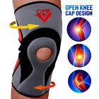 Adjustable Hinged Knee Brace Patella Compression Support Pain Relief Neoprene SF