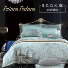 Single/Double/Queen/King/Super K Size Bed Quilt/Duvet Cover Set-Prince Palace