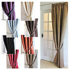 """SUZY DOOR CURTAINS 46x84"""" (117x213cm) Faux Suede NOW £10 - REDUCE THE COLD"""