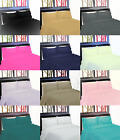 NEW GYPSY STYLE MICROFIBER PILLOW CASES FLAT FITTED BED SHEET SET RUFFLE  3/4PC  image