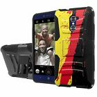 ZTE Grand X Max 2/Imperial Max Duo Armor Case Holster Kickstand Screen Guard - G