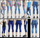 NWT Womens XS  XL Nike Pro HyperCool Graphic Training Capris Tights Workout
