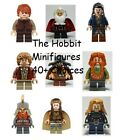 LEGO The Hobbit / Lord of the Rings Minifigures 40+ Choices - Dwarves Elves etc.