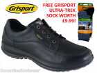 GRISPORT LIVINGSTON  WALKING SHOES  FREE GRISPORT SOCKS - ACTIVE RANGE BLACK