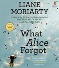 What Alice Forgot by Liane Moriarty (2014, CD, Unabridged)/AUDIOBOOK/EUC