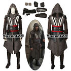 2017 AC Callum Lynch Aguilar Assassin Killer Men's Cosplay Costume Deluxe Outfit