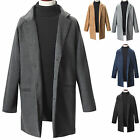 New Fashion Mens Luxury Dandy Single Coat Blazer Jacket Jumper Top Outwear E003